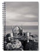 Abandoned Pier Spiral Notebook