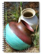 Abandoned Pots Spiral Notebook