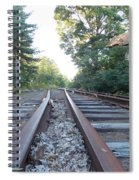 Abandoned Railroad 1 Spiral Notebook