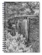 Abandoned Root Cellar - Alstown - Washington - May 2013 Spiral Notebook