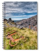 Abandoned Slate Quarry Spiral Notebook