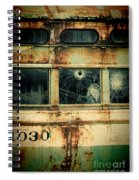 Abandoned Train Car Spiral Notebook