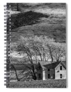 Abandoned Two-story Farmhouse - P Road Nw - Waterville - Washington - May 2013 Spiral Notebook