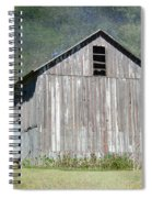 Abandoned Vintage Barn In Illinois Spiral Notebook