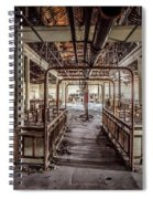 Abandoned Winery In The South Of France Spiral Notebook