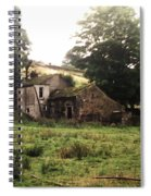 Abandoned Yorkshire House  Spiral Notebook
