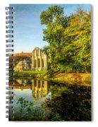 Abbey Lake Autumn Spiral Notebook