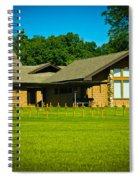 Abbey Of The Genesee Spiral Notebook