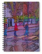Abbey Road Crossing Spiral Notebook