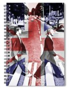 Abbey Road Union Jack Spiral Notebook