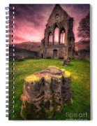 Abbey Ruin Spiral Notebook