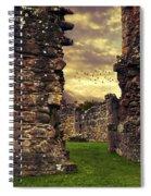 Abbey Ruins Spiral Notebook
