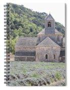 Abbey Senanque  Spiral Notebook