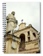 Abbey Statues Spiral Notebook