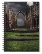 Abbey Steps Spiral Notebook