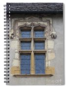 Abbot Palace Window - Cluny - Burgundy Spiral Notebook