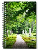 Abby Aldrich Rockefeller Path Statuary Spiral Notebook