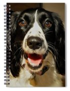 Abby's Sweet Smiling Face Spiral Notebook
