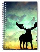 Ablaze  Spiral Notebook