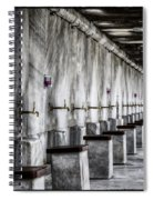 Ablutions Spiral Notebook