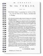 Abolition, 1789 Spiral Notebook