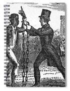 Abolitionist, C1840 Spiral Notebook