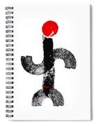 Aboriginal Figure Spiral Notebook