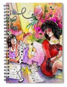 About Women And Girls 16 Spiral Notebook