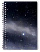 Above Spiral Notebook