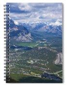 Above Banff Spiral Notebook