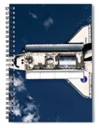 Above Earth Spiral Notebook