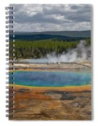 Above Grand Prismatic Spiral Notebook