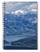 Above Lake Minnewanka #2 Spiral Notebook