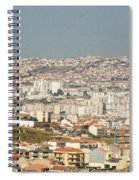 Above Lisbon Portugal Spiral Notebook
