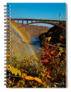 Above The Falls Spiral Notebook