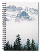 Above The Fog Spiral Notebook