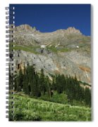 Above The Fruited Plains Spiral Notebook