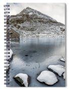 Above The Ice Spiral Notebook