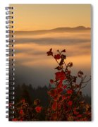 Above The Mists Spiral Notebook
