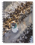 Above Walton Lighthouse Spiral Notebook