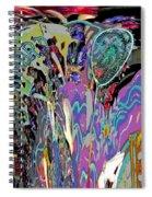 Abracadabra Abstract Spiral Notebook