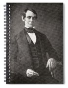 Abraham Lincoln, 1809 – 1865.  16th President Of The United States Of America.  From Abraham Spiral Notebook