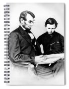 Abraham Lincoln And Tad Spiral Notebook