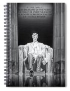 Abraham Lincoln Memorial Spiral Notebook