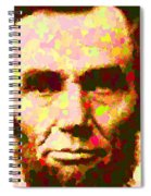 Abraham Lincoln Portrait Spiral Notebook