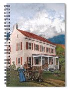 Abraham Lincoln's Ancesteral Home Spiral Notebook