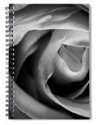 Absence Of Color Spiral Notebook