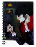 Absinthe Drinker After Picasso Spiral Notebook