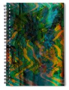 Abstract - Emotion - Apprehension Spiral Notebook
