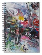 Abstract 00111 Spiral Notebook